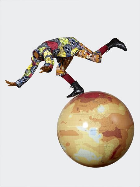 Yinka Shonibare MBE, Boy on Globe[link]/current/yinka-shonibare2.html[/link]
